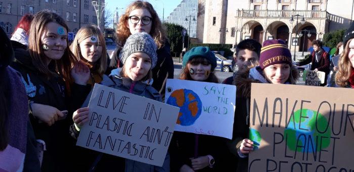 SP2 na strajku klimatycznym