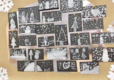 Zimowe obrazy | świetlica