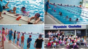 Nauka pływania - zajęcia na Chwiałce.