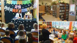 Biblioteka szkolna i Pasowanie na czytelnika.