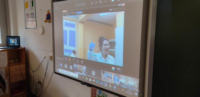 Wirtualne spotkania w projekcie Erasmus+