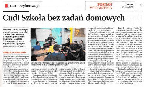 artykuł gazeta wyborcza